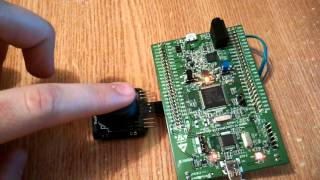 STM32F4 - Discovery and 2x16 HD44780 LCD - Neno Paulin