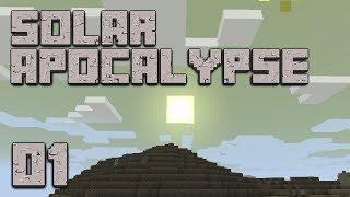 ►Solar Apocalypse: IT BURNS!   Ep. 1   Modded Minecraft Survival◄   iJevin