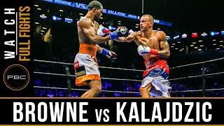 Browne vs Kalajdzic FULL FIGHT: April 16, 2016 - PBC on NBC