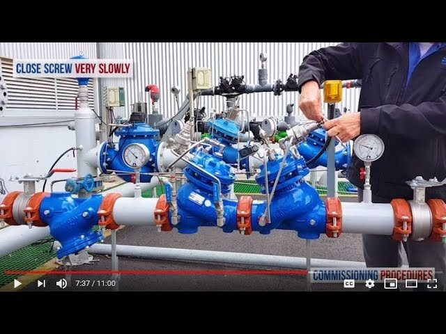 How to Commission and Calibrate a Pressure Reducing Station with Excessive Pressure Shut-off valve