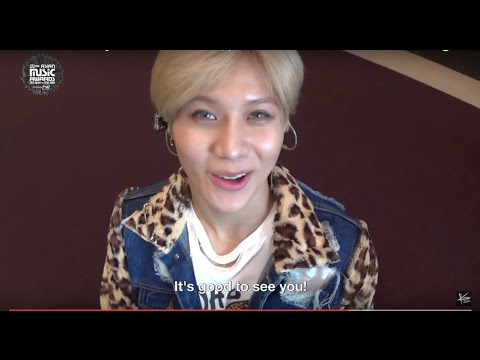 MAMA 2015 Backstage - Hello From SHINee, f(x), EXO, & TTS!