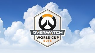 Overwatch World Cup Paris 2018 - Day 1 - YouTube