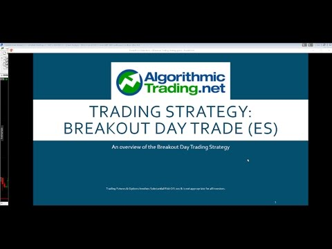 Breakout Day Trading Example - Automated Trading Strategy