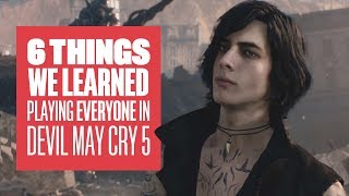 6 Things We Learned Playing as All 3 Characters in Devil May Cry 5 - Devil May Cry 5 Dante Gameplay