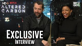 James Purefoy & Renée Elise Goldsberry - Altered Carbon Exclusive Interview