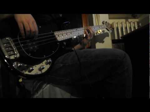 Red Hot Chili Peppers - One Big Mob (bass cover)