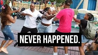 The Disneyland Fight NEVER HAPPENED.........Family DENIES EVERYTHING. 😂😂😂