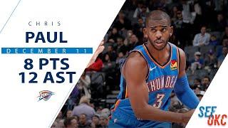 Chris Paul's Full Highlights: 8 PTS, 12 AST, 3 BLK vs Kings | 2019-20 NBA Season - 12.11.19