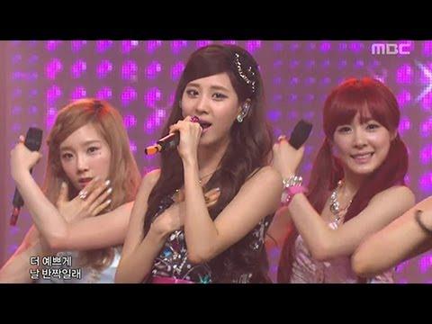 Girls' Generation TTS - Twinkle, 소녀시대 태티서 - 트윙클, Music Core 20120519