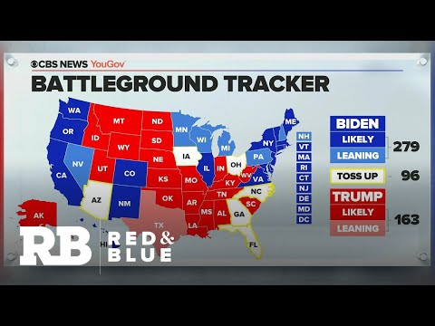 Where the presidential race stands with 20 days left until Election Day