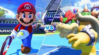 Mario Tennis: Ultra Smash Walkthrough Part 1 - Knockout Challenge (Unlocking Star Mario)