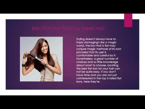 Top 5 Best Flat Iron Reviews - Best Hair Straighteners 2016