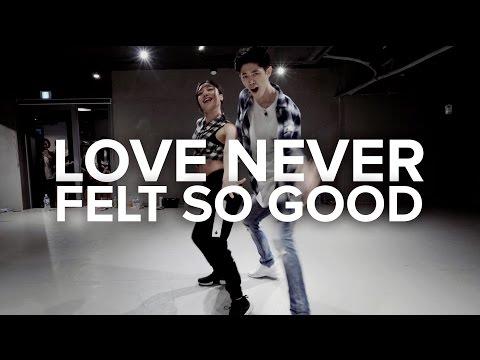 Love Never Felt So Good - Michael Jackson / Bongyoung Park & May J Lee Choreography