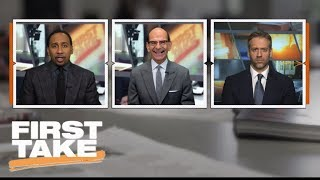 First Take debates College Football Playoff rankings after Championship Weekend   First Take   ESPN