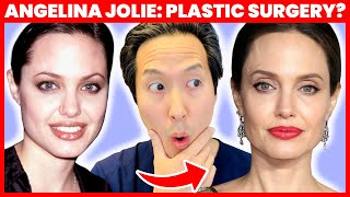 Doctor Reacts to Angelina Jolie's Plastic Surgery- How Does She Look So Good? - Dr. Anthony Youn