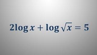 Logaritemska enačba 11