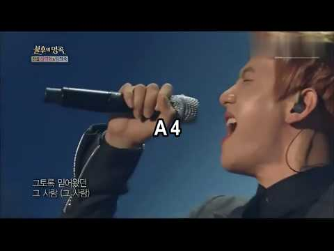 SM vocalists High Notes  battle:(F4-G5)EXO,SHINee, TVXQ and SUPER JUNIOR