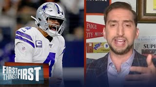 With Dak, Zeke & CeeDee Lamb, Dallas may make a Super Bowl run — Nick Wright | FIRST THINGS FIRST