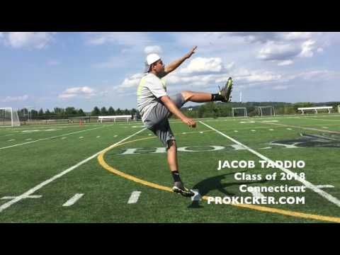 Jacob Taddio, Ray Guy Prokicker.com Punter, Class of 2018