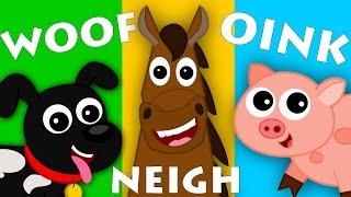 Animals Sound Song | Learn Animals | Nursery Rhymes | Kids songs | Kids Tv Nursery Rhymes For Babies