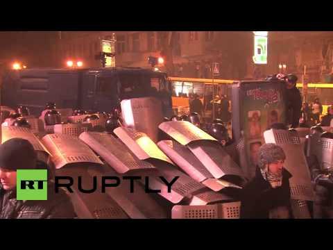 More violence as Kiev kicks off