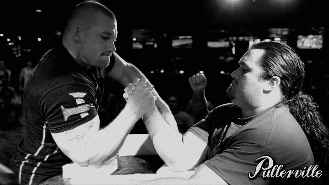 Robbie Topie vs. Kenny Hughes -Armwrestling - Tahoe Biltmore 2013