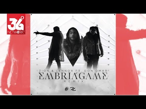 Zion & Lennox feat. Don Omar - Embriágame Remix | Video Lyric