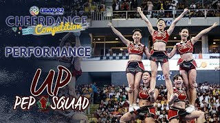 UP Pep Squad Full Performance | UAAP 82 CDC
