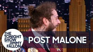 Post Malone Teases Posty Fest and Invites Jimmy to Olive Garden