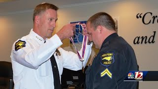 Salute to Heroes: Officer Stephen Finn saves unconscious man from burning building