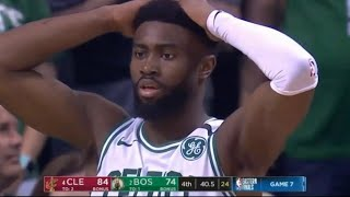 Final Minutes Game 7 Cavaliers vs Celtics 2018 Playoffs Eastern Conference Finals