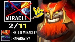 Top 1 MMR Paparazi vs Miracle- God! Mars vs Spectre Rampage Gameplay Delete M-God Crazy Dota 2