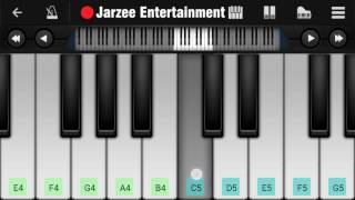 Mere Mehboob Qayamat Hogi - Easy Mobile Perfect Piano Tutorial   Jarzee Entertainment