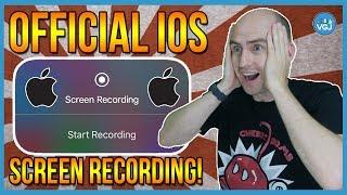 New iOS Screen Recorder: The Official Apple Recorder. No jailbreak. No PC. No Revoke! iOS 11 2017