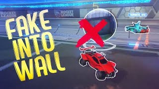 THIS FAKE BROKE HIS NOSE! (Rocket League Funny Moments #15)