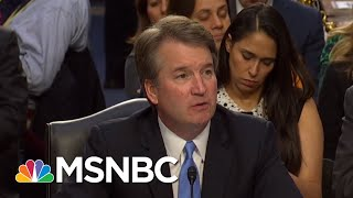 GOP Fails To Explain Excluding FBI From Brett Kavanaugh Investigation   Rachel Maddow   MSNBC