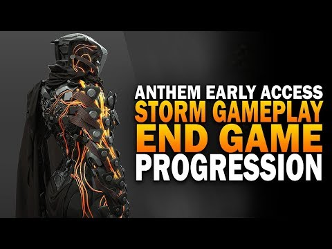Anthem Early Access Hard Gameplay - Storm Javelin, Progressing To End Game