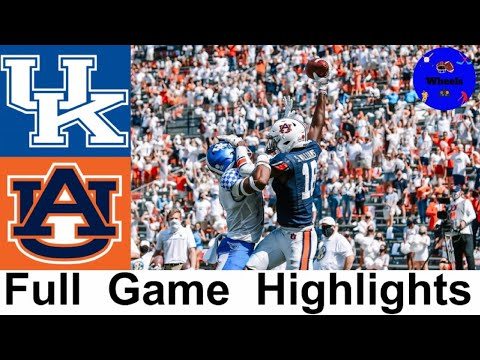 #23 Kentucky vs #8 Auburn Highlights | College Football Week 4 | 2020 College Football Highlights
