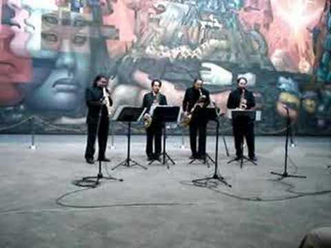 Cuarteto Latinoamericano de Saxofones -