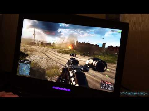 Alienware 18 2013 BATTLEFIELD 4 Gameplay on ULTRA FullHD