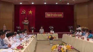 Tổng Bí thư, Chủ tịch nước Nguyễn Phú Trọng làm việc với Đảng bộ tỉnh Kiên Giang - YouTube
