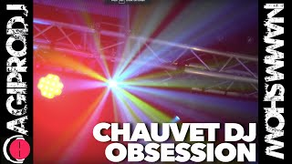 Take a look CHAUVET DJ OBSESSION Compact LED Effect Light in action - video 1