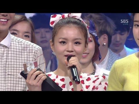 LEE HI (이하이) - IT'S OVER @SBS Inkigayo 인기가요 2013.03.24_1st Place Award