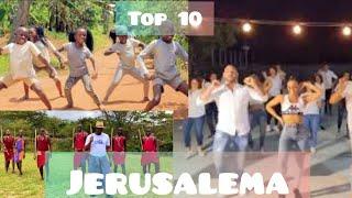 Top 10 Best Jerusalema dance challenges   WORLDWIDE.