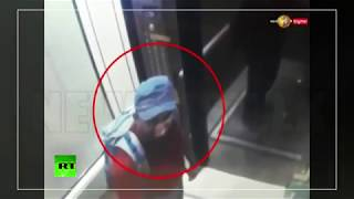 Sri Lanka hotel suicide bombers caught on CCTV..