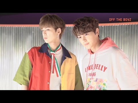 [OFF THE BOYZ] 'Giddy Up' M/V behind (ENG/JPN/CHN/ESP)