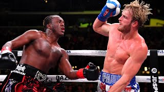KSI vs. Logan Paul 2: All the Highlights From Saturday's Fight