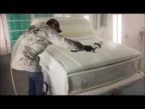 Napa paint job on cheap work truck