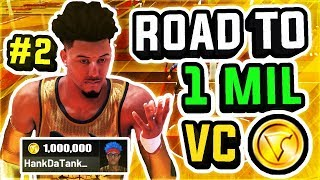 ROAD TO 1 MILLION VC w/ BEST PLAYSHARP IN NBA 2K19 AT THE STAGE #2