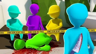 WHICH PAL IS GUILTY?! SECRET MURDERER.. (The Pals Play Human Fall Flat)
